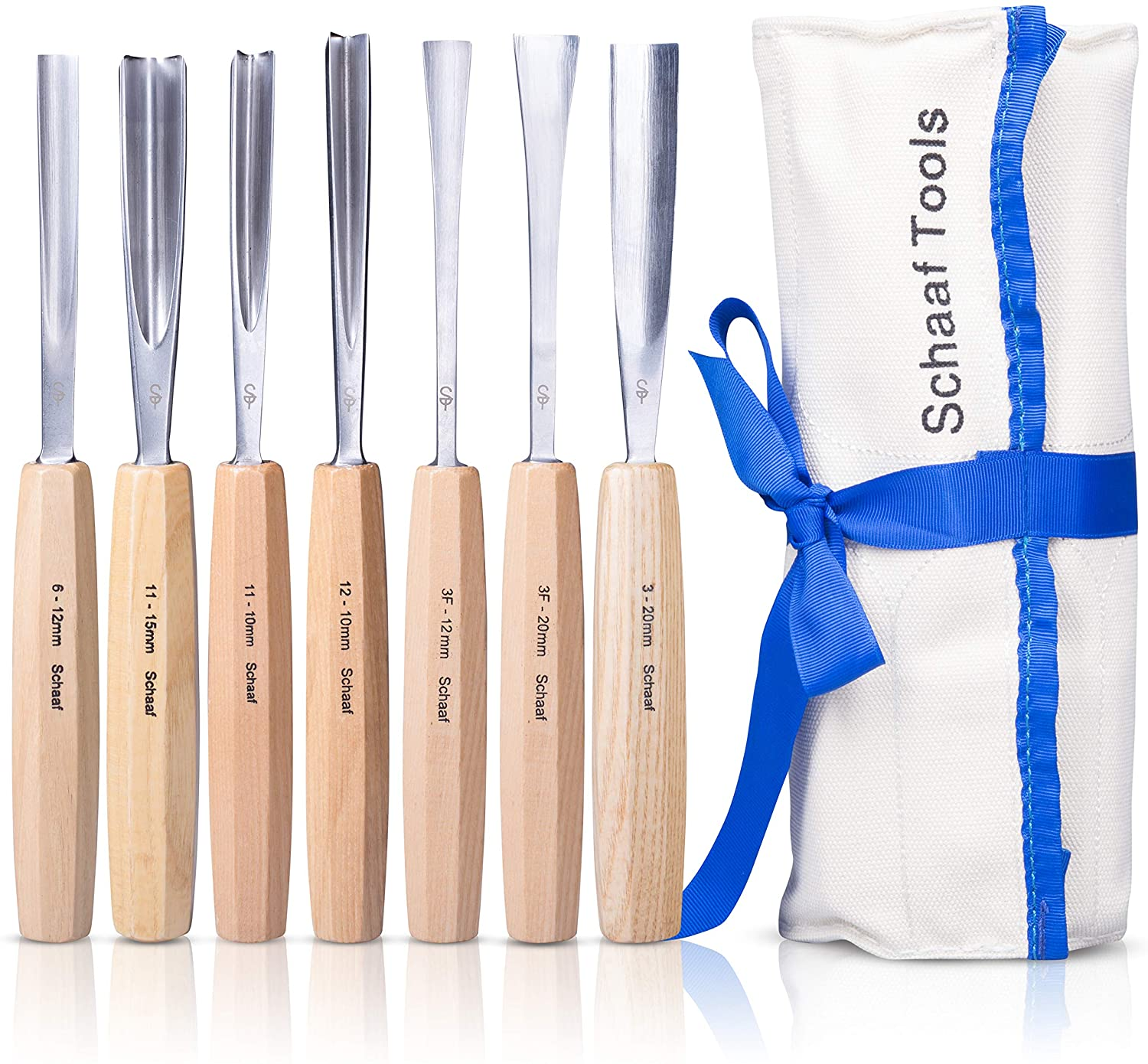 SCHAAF Wood Carving and Chisel Set