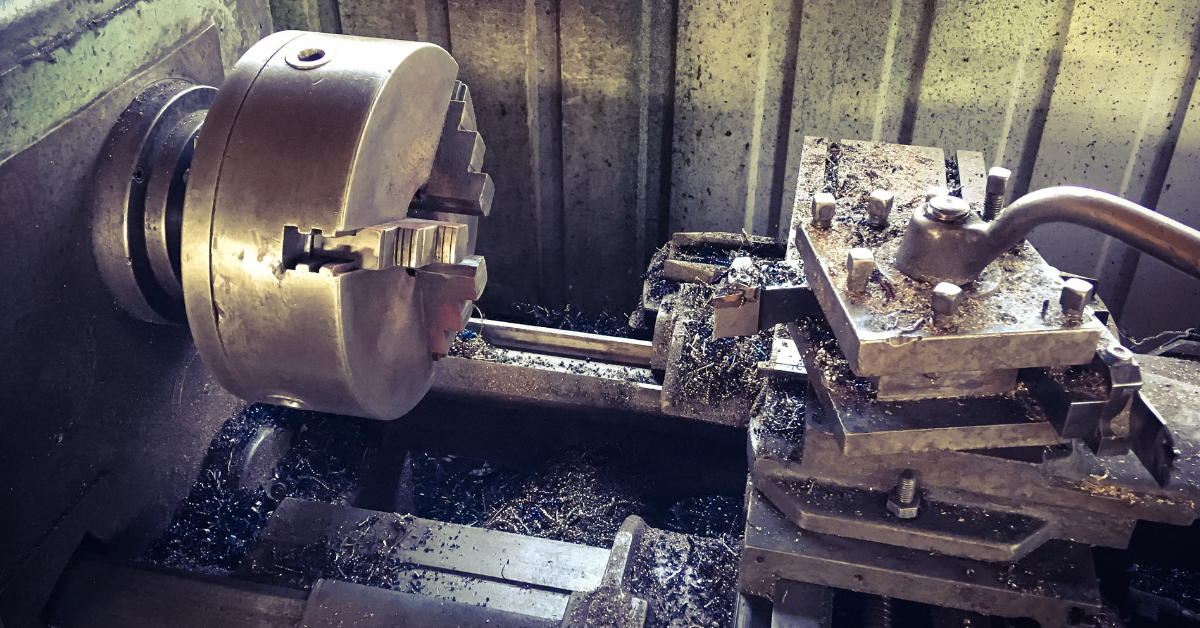 Can a wood Lathe be used for metal